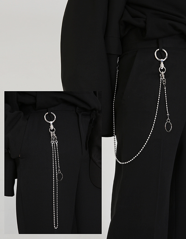 No.7313 serial number pants chain & keyring